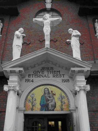 Lewisham St Saviour Catholic Church Ww1 War Memorial