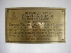 Elwyn Atkinson Memorial