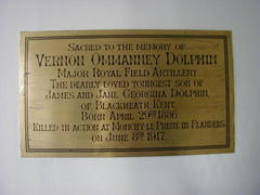 Vernon Ommanney Dolphin Memorial