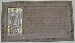 St Saviour (George Luffingham) War Memorial