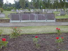 Lewisham Civilians WW2 Memorial at HG Cemetery
