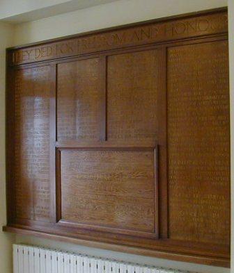 Goldsmiths College WW1 War Memorial