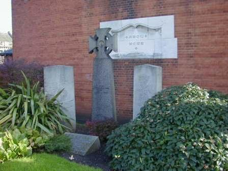 St Andrew's Church WW1 War Memorial Cross, Catford