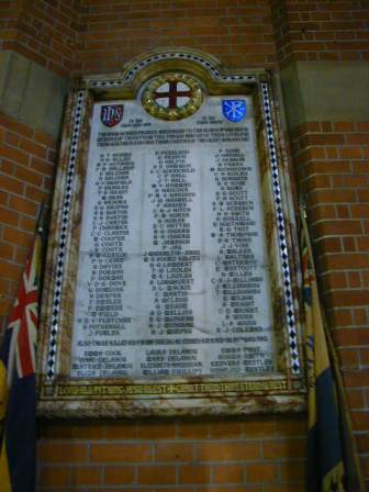 All Saints War Memorial