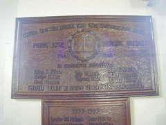 Perry Rise Baptist Church WW1 War Memorial