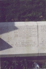 William A V Humphries War Grave