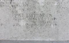 Tappenden, Albert Bernard War Grave